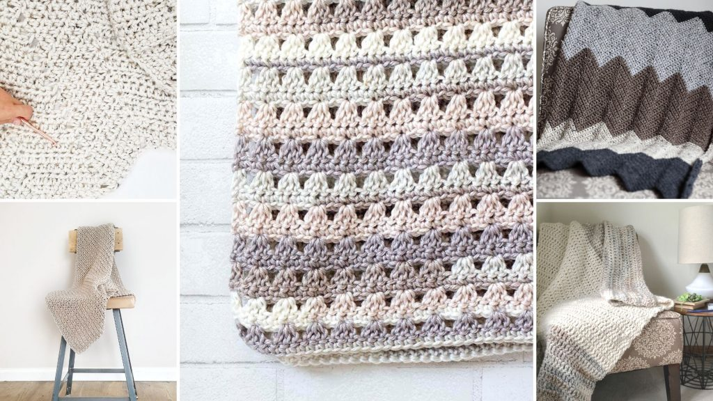 Modern Crochet Blanket Patterns Easycrochet Com
