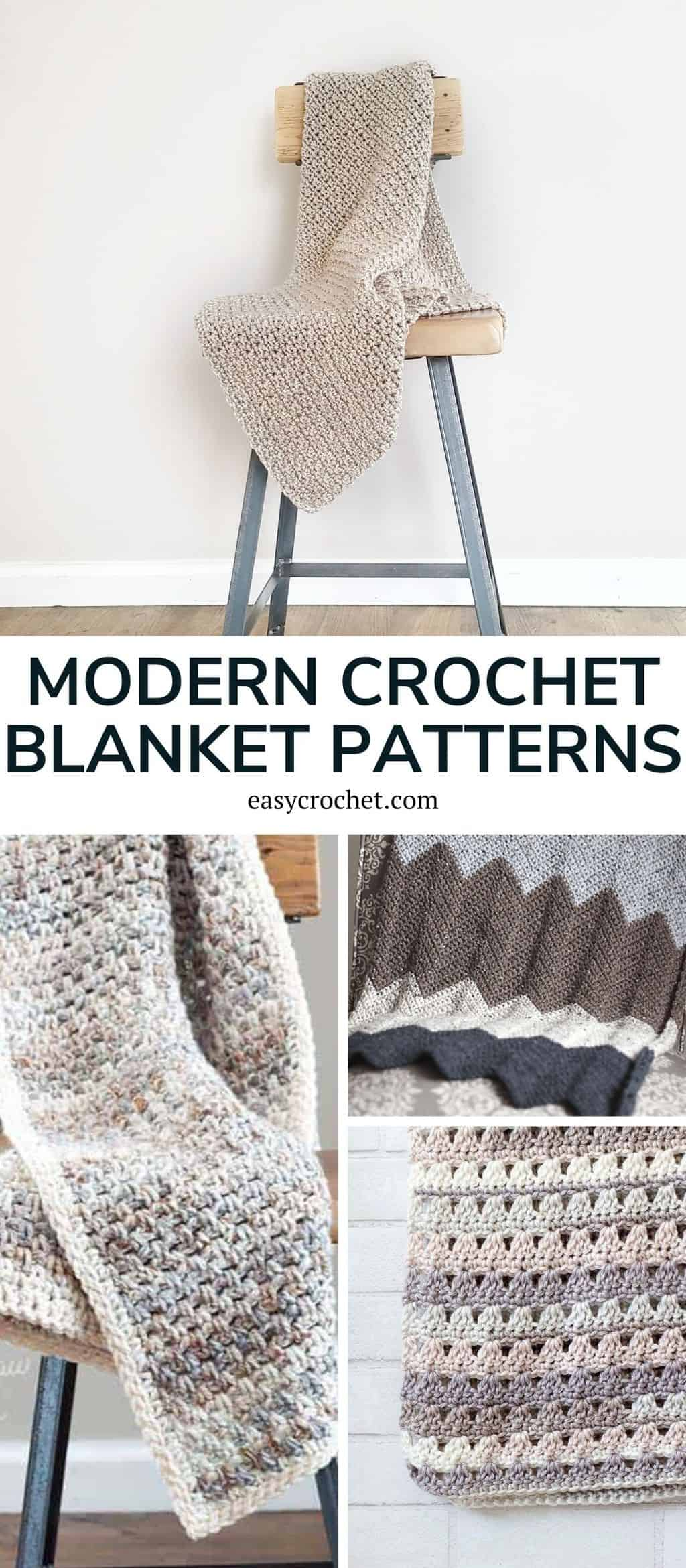 Unique modern crochet blanket patterns