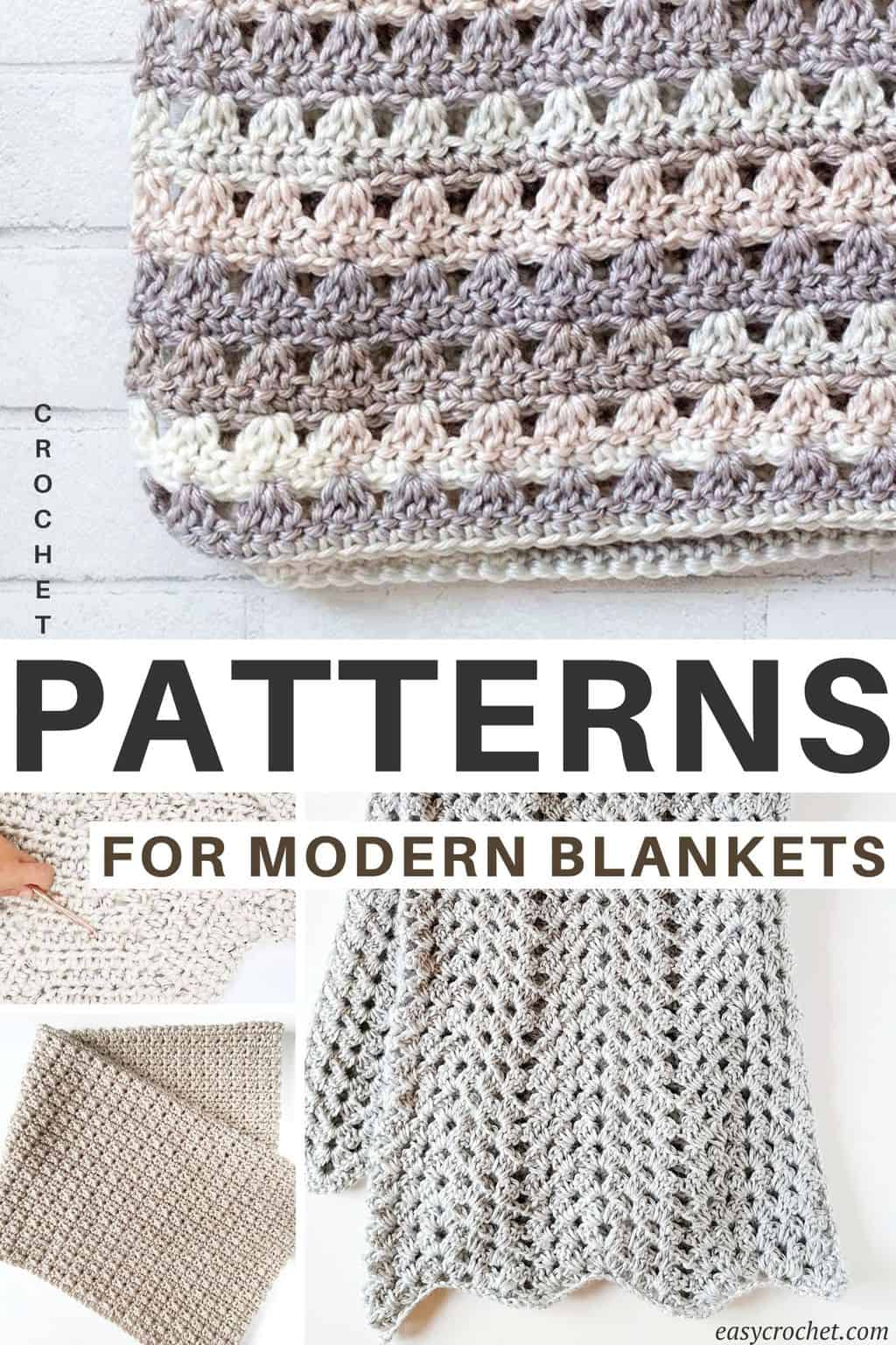 Modern Blanket Crochet Patterns