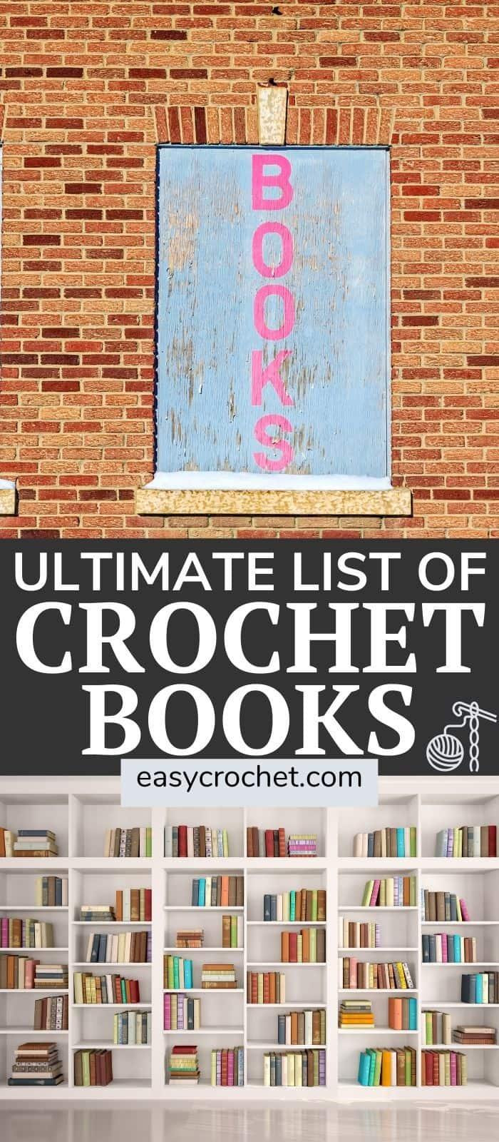 The ultimate list of the best crochet books! via @easycrochetcom