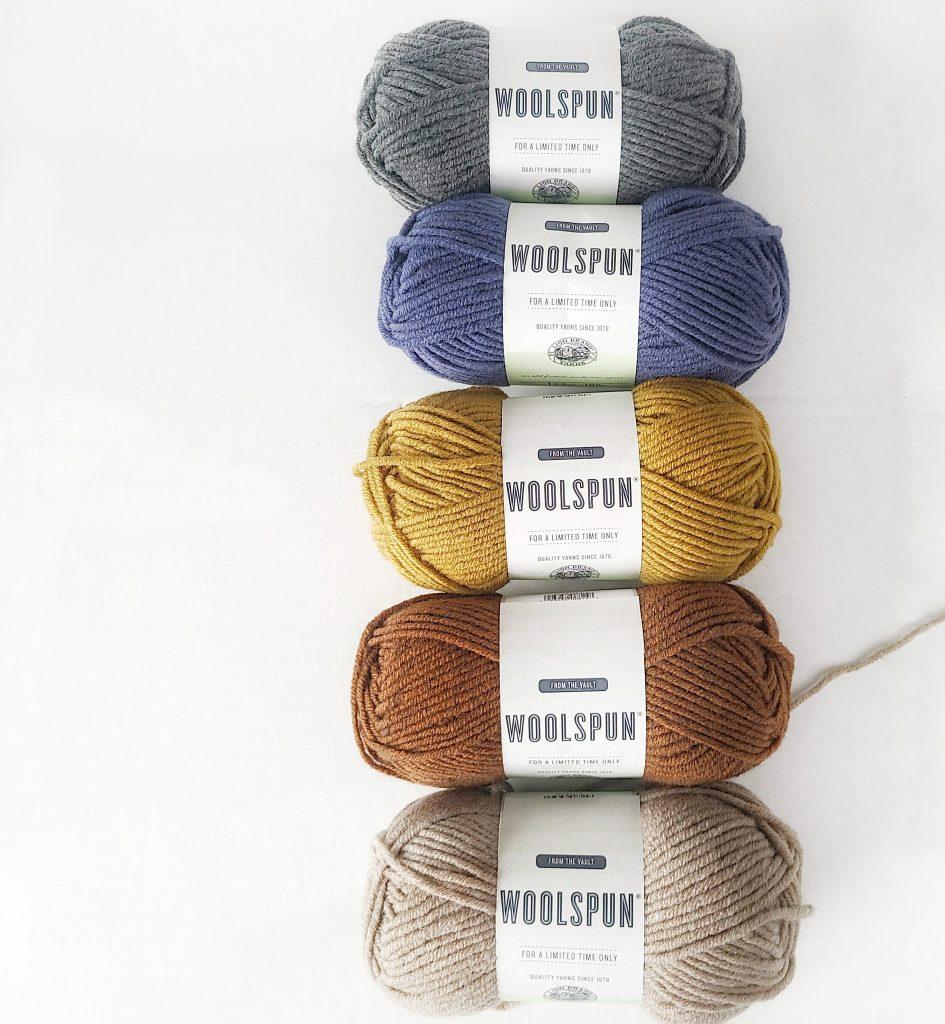 lion brand wool spun yarn