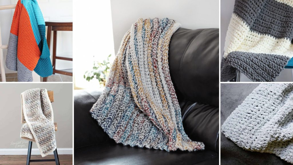 beginner friendly crochet blanket patterns