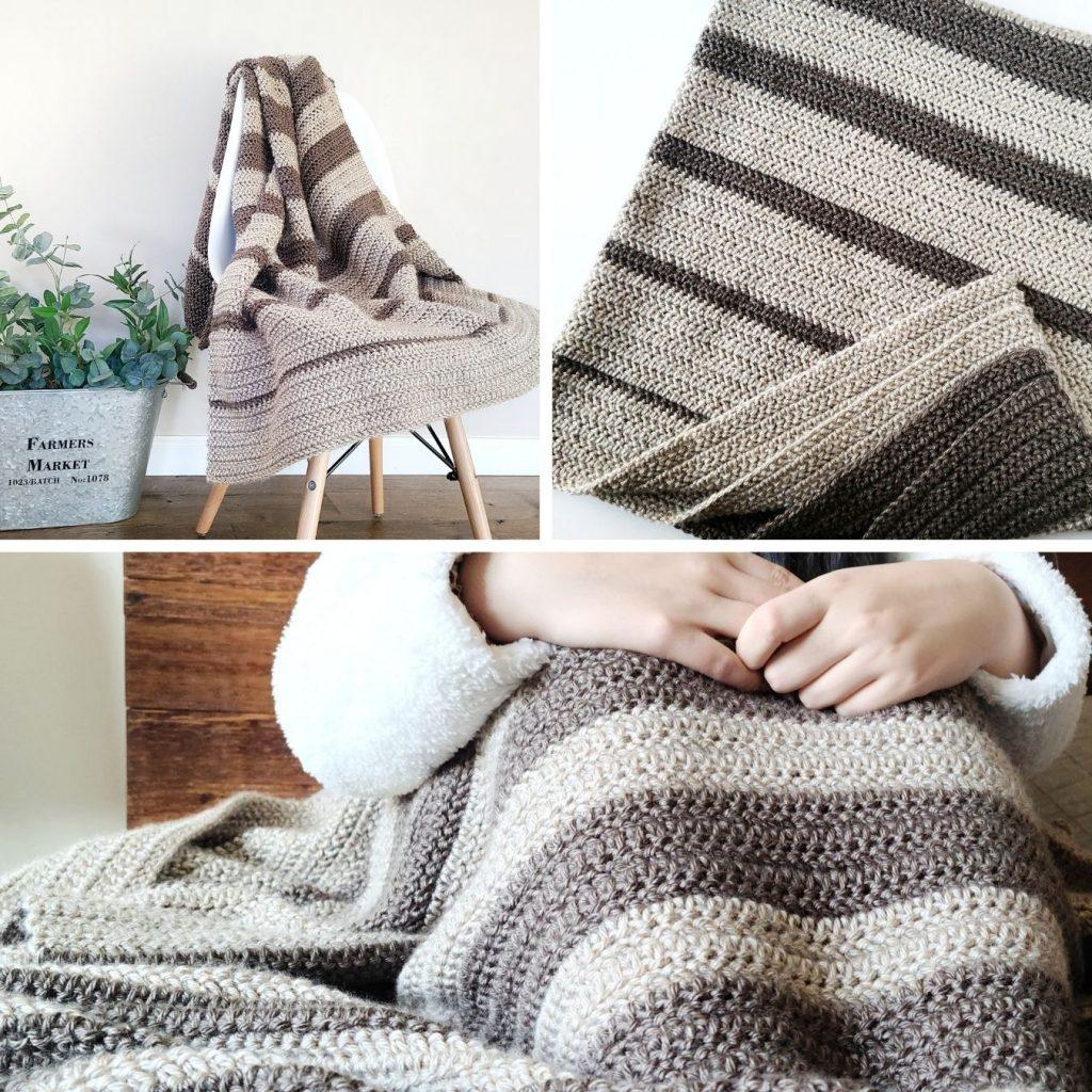 falling crochet blanket pattern