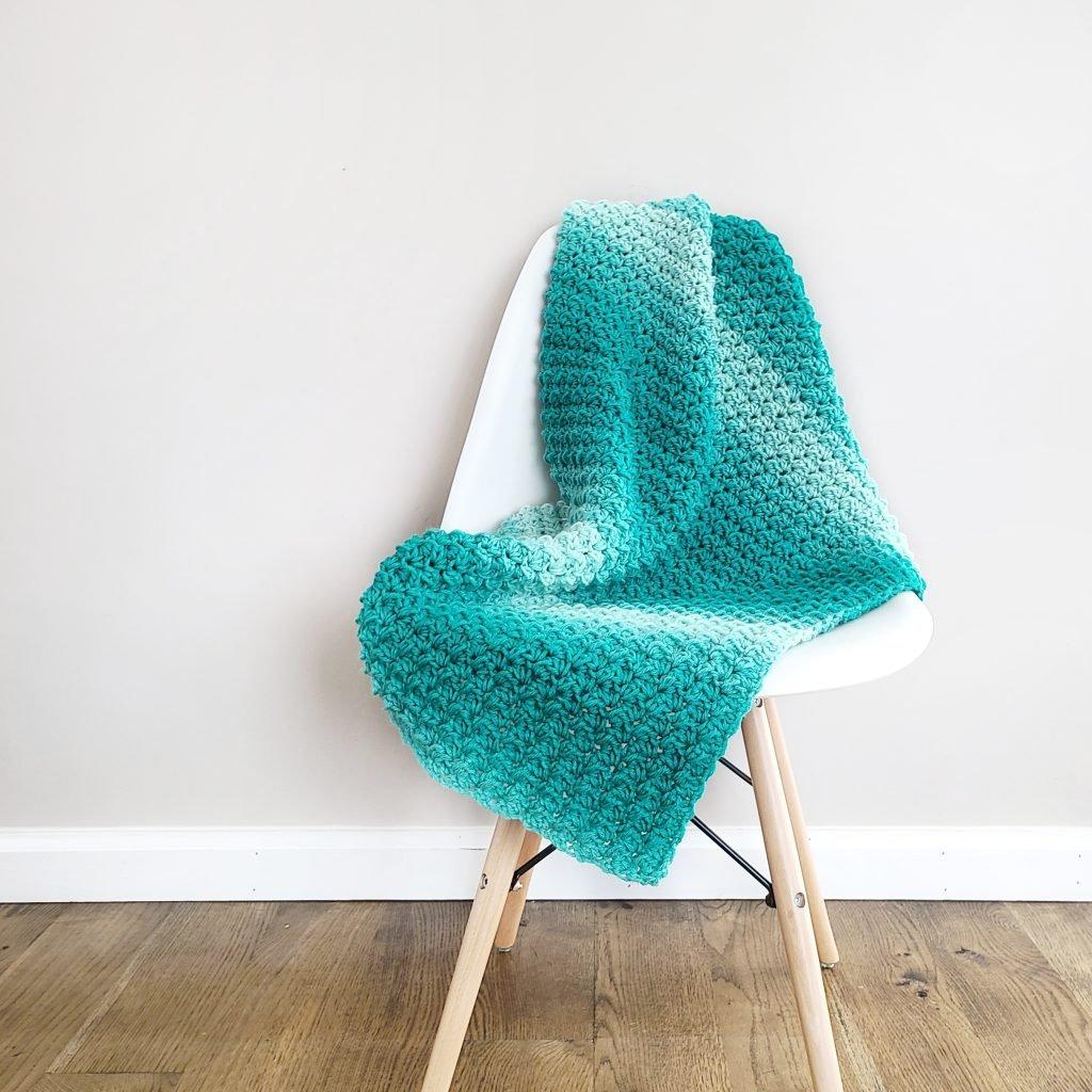 easy to make classic crochet blanket