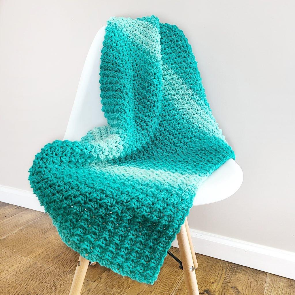 Crochet Ombre Classic Blanket