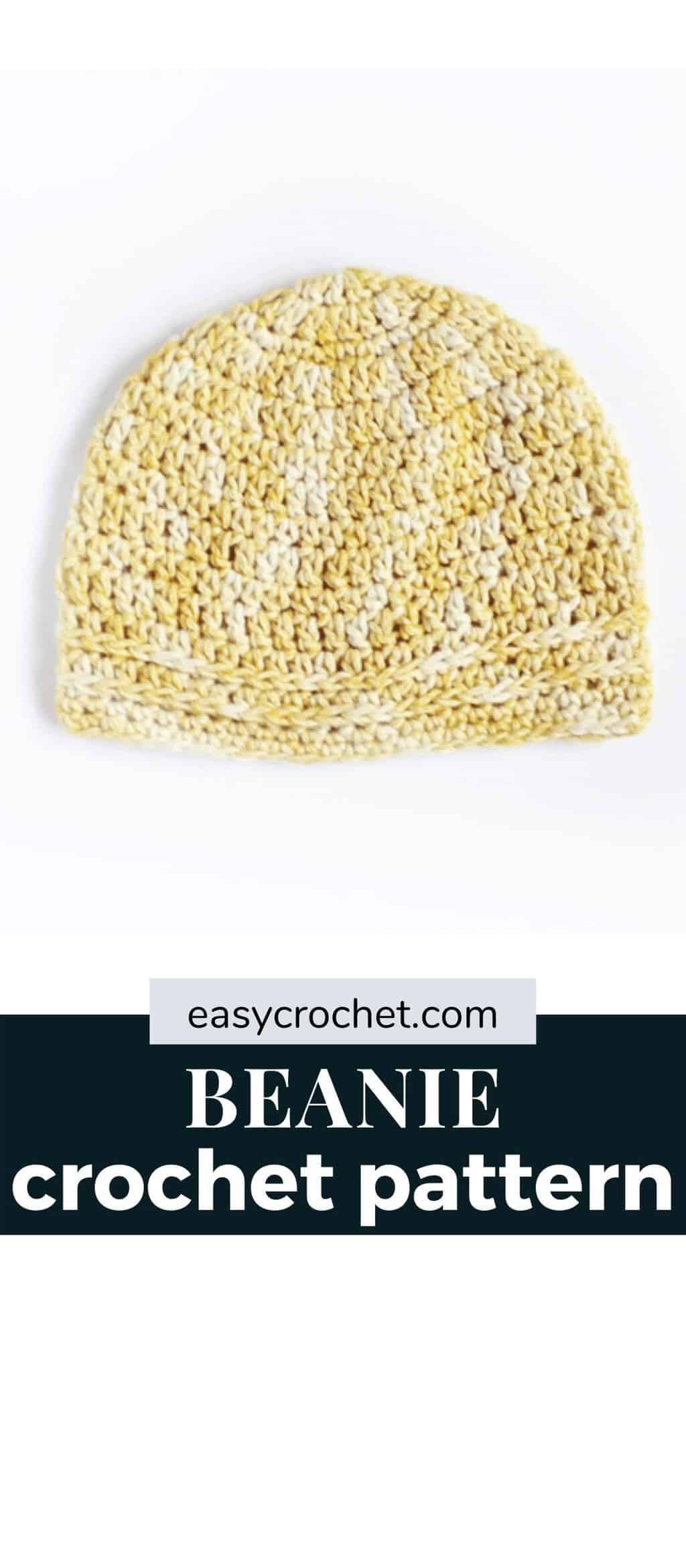 Beanie Crochet Hat Pattern