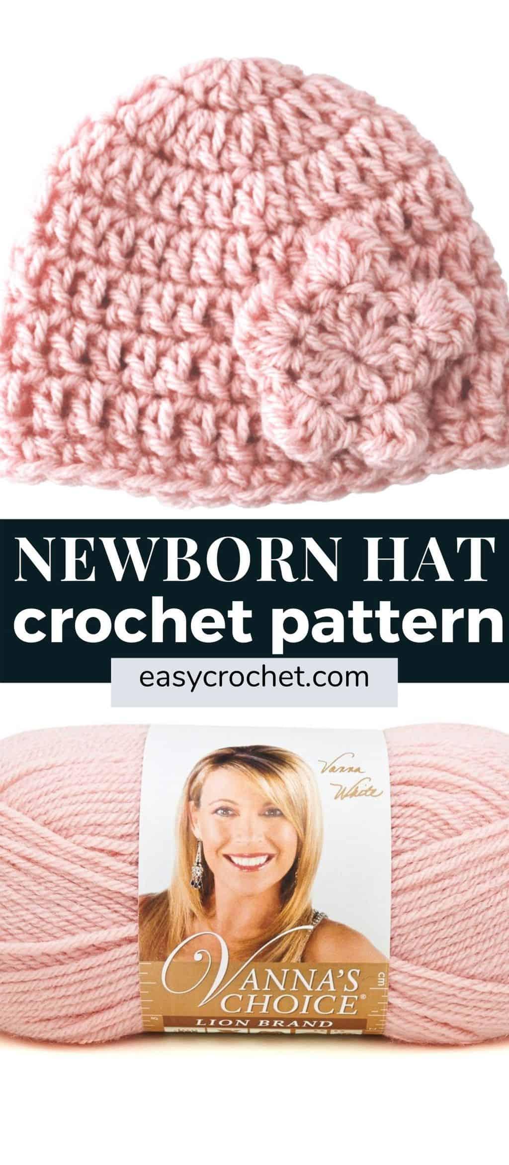 newborn hat crochet pattern