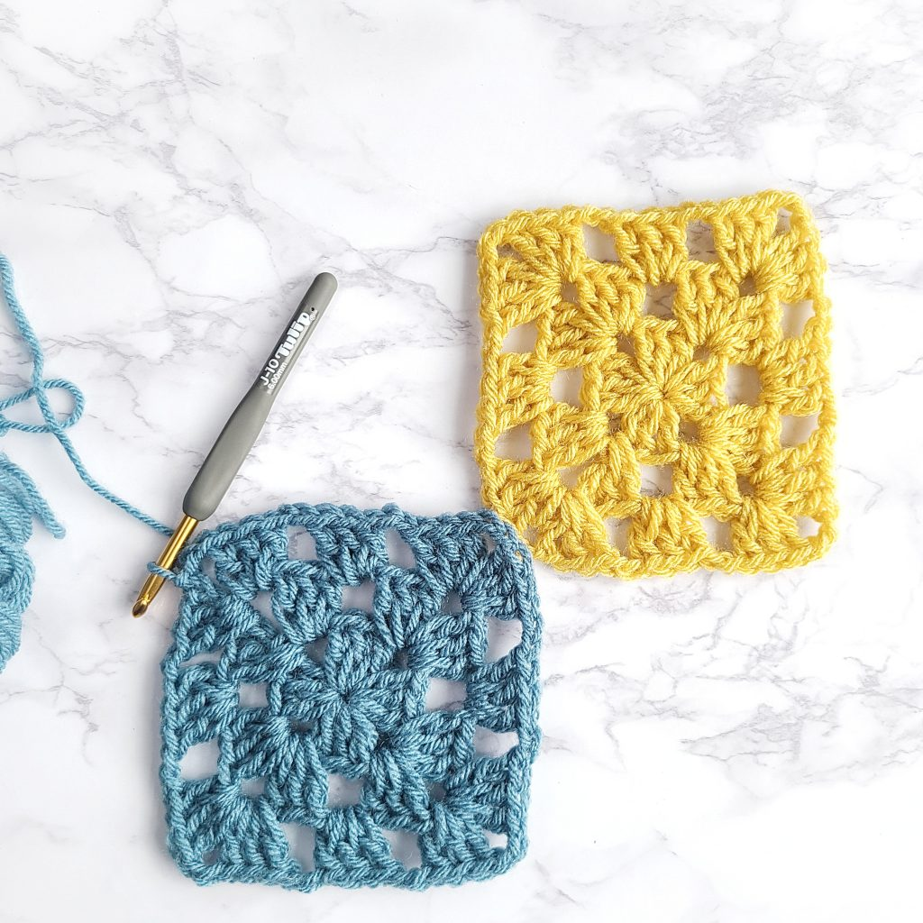 how to start crocheting a granny square