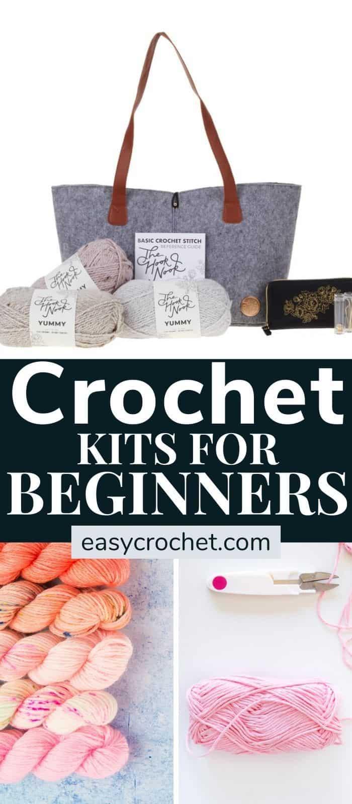 learn how to crochet kit via @easycrochetcom