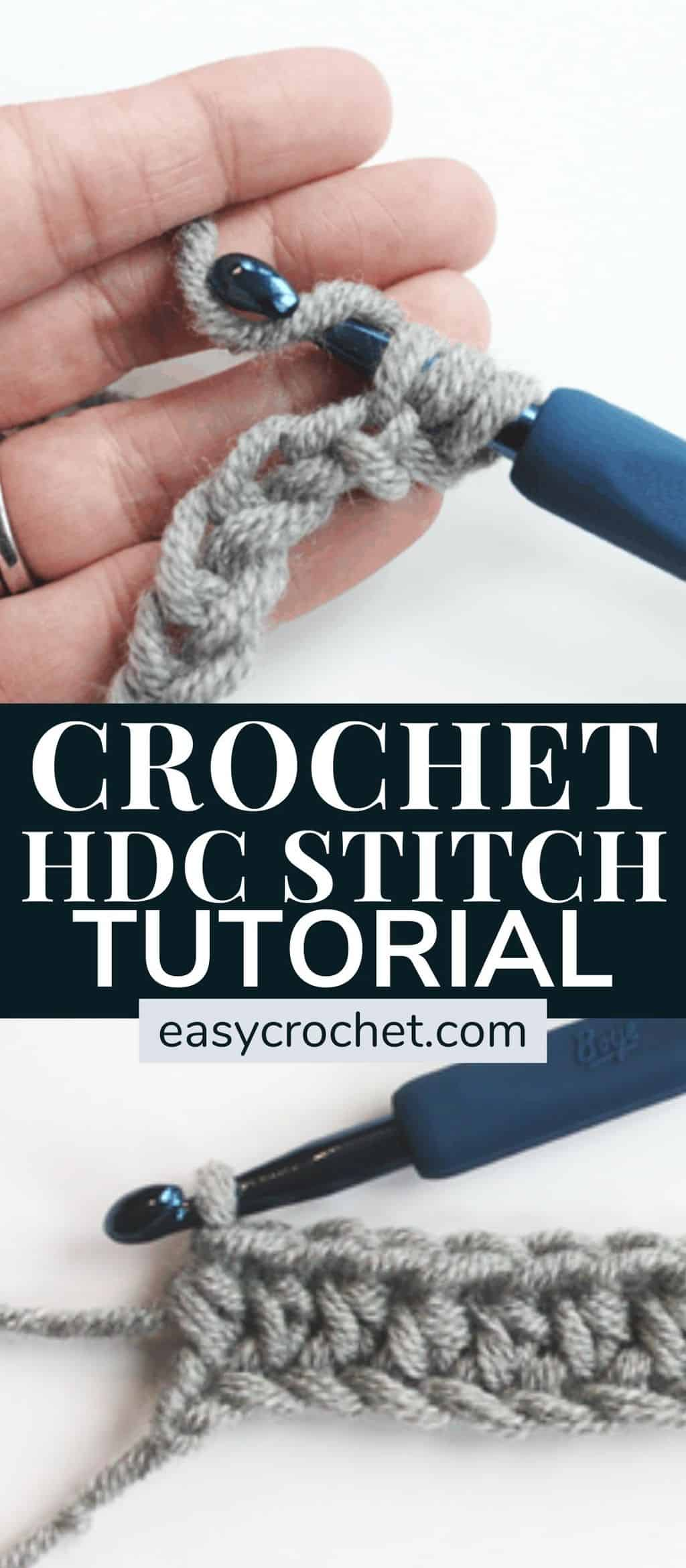 how to half double crochet