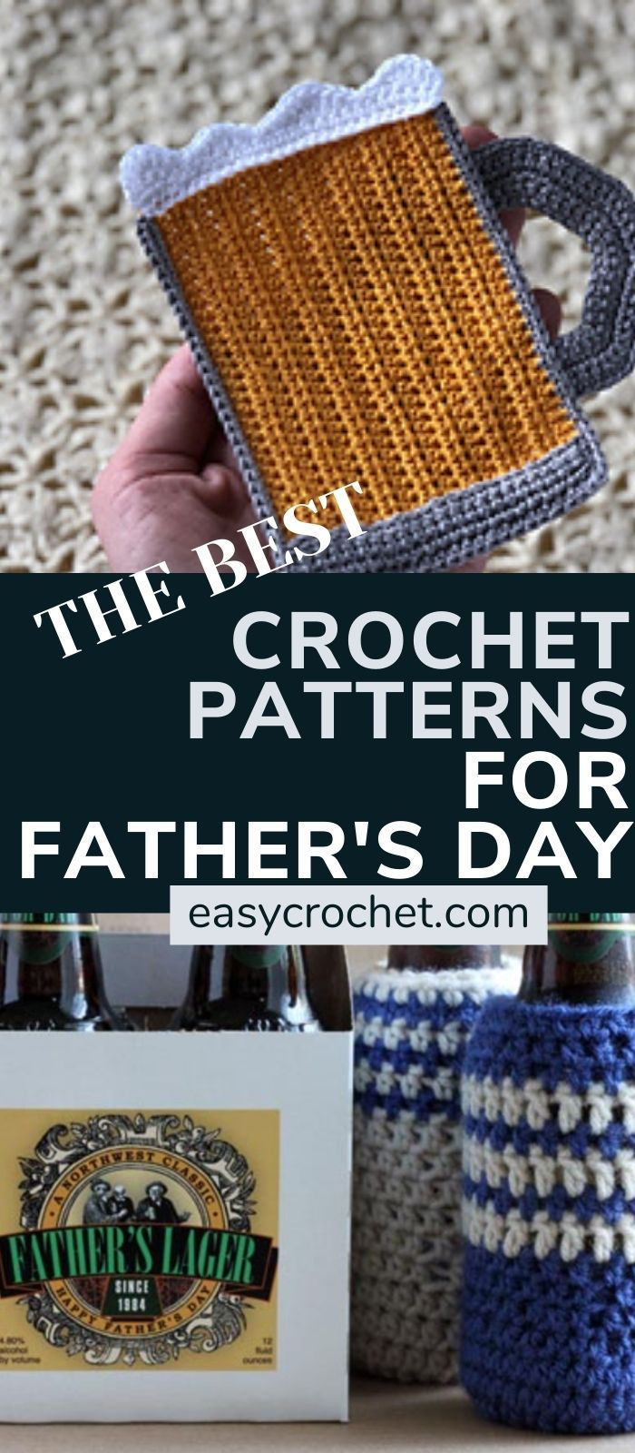 Crochet Pattern ideas for Father's Day
