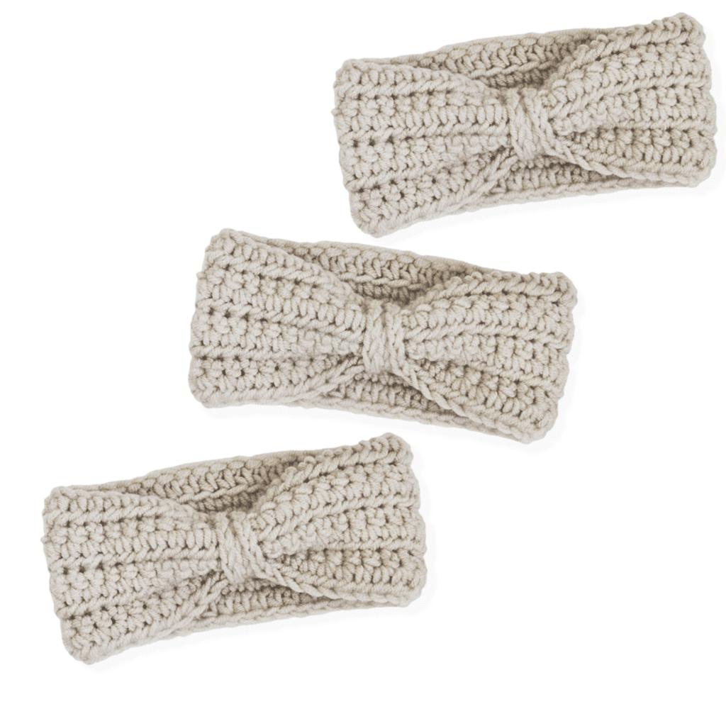 crochet headband and earwarmer pattern