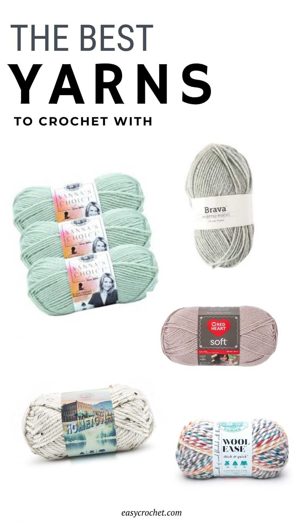 The best yarns to crochet with