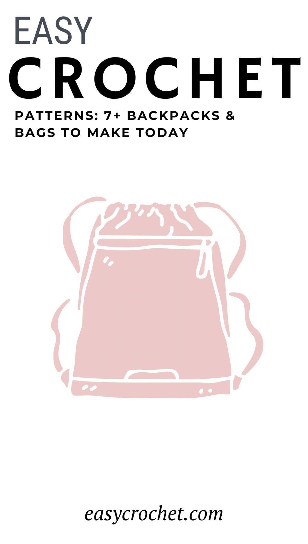 Mochilas y patrones de bolsos de ganchillo gratis