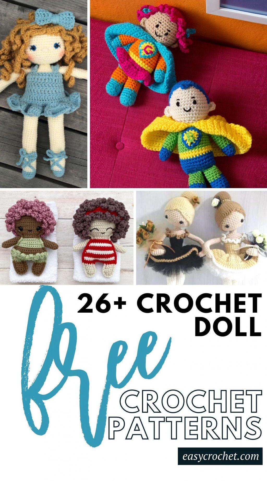 free amigurumi doll crochet patterns