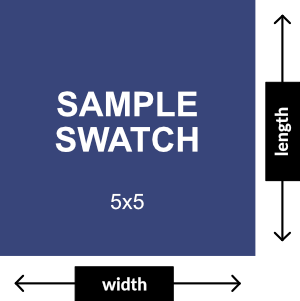 5x5 Swatch Dimensions