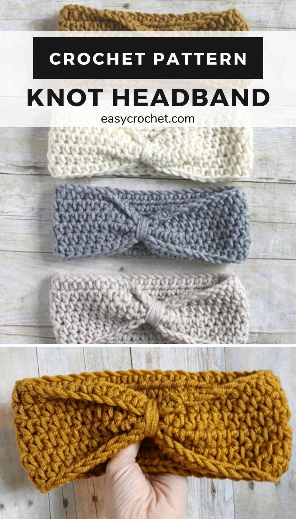 knot headband crochet pattern